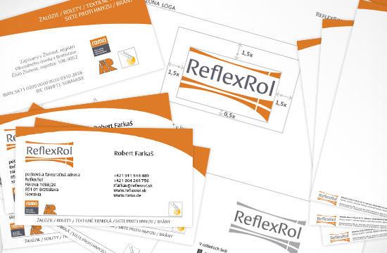 Vizuálna identita pre spoločnosť ReflexRol
