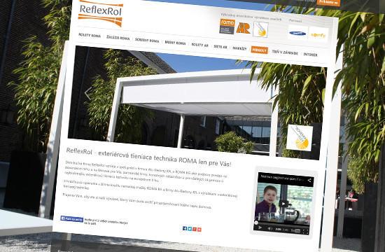 ReflexRol – exteriérová tieniaca technika