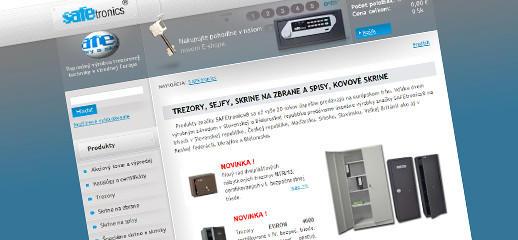 Nový e-shop trezorovej techniky safetronics.sk