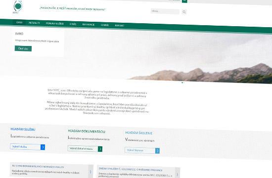 Slovenské centrum čistejšej produkcie s novou stránkou