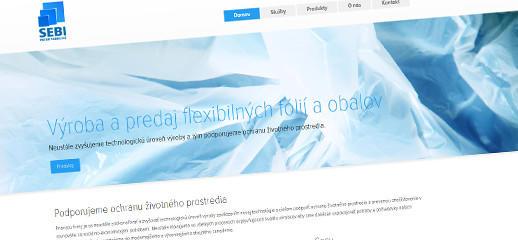 Sebi-obaly - výroba a predaj flexibilných fólií a obalov