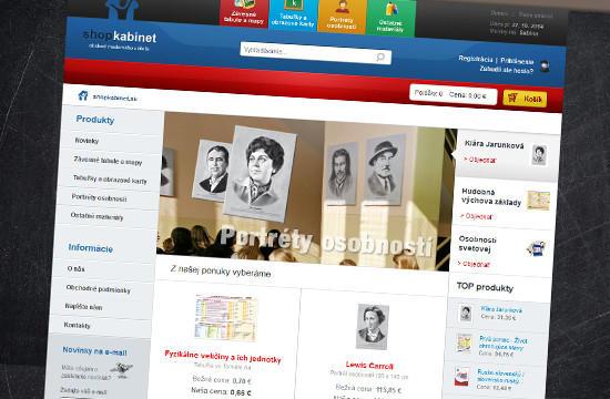 Shopkabinet.sk - online obchod na predaj školských pomôcok