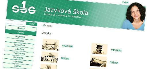 Štátna jazyková škola - nová web stránka