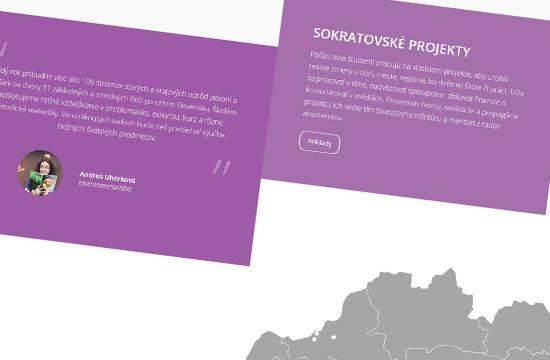 Sokratov inštitút s novým webom