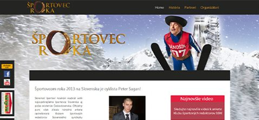 Športovec roka – anketa sportovecroka.eu