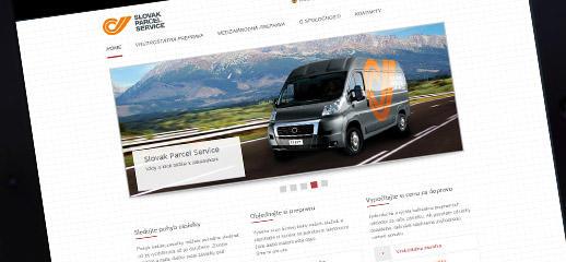 Slovak Parcel Service má novú webstránku