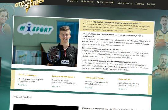 STARS for STARS - podpora mladých športových hviezd