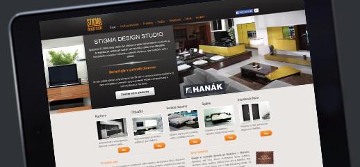 Stigma Design Studio má novú webstránku
