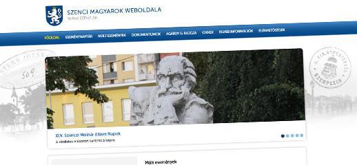 Szenc.sk - webstránka o dianí v Senci