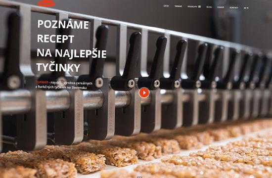 TEKMAR - najväčší výrobca cereálnych a funkčných tyčiniek na Slovensku