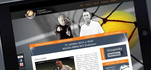 Tenisová exhibícia hviezd 2014 - tennischampions.sk