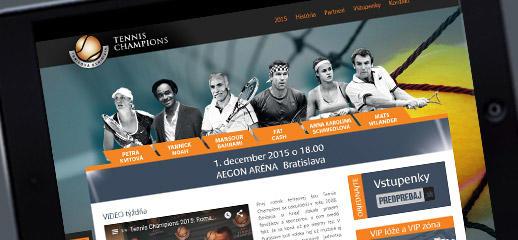 Tenisová exhibícia hviezd 2015 - Tennis Champions