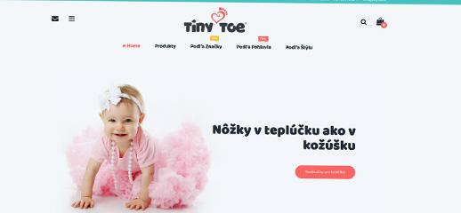 TinyToe - kvalitné detské topánky overených značiek