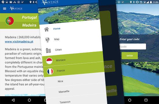 Vantage River Guide eBook – mobilná aplikácia