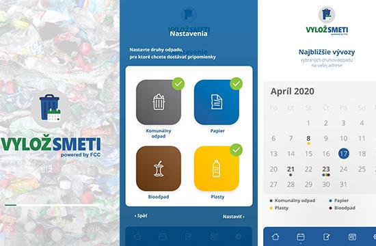 Pre spoločnosť FCC sme vytvorili aplikáciu Vylož smeti