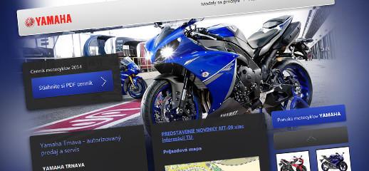 Predaj motocyklov Yamaha v Trnave