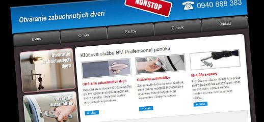 Zabuchnute-dvere.sk - kľúčová služba BM Professional