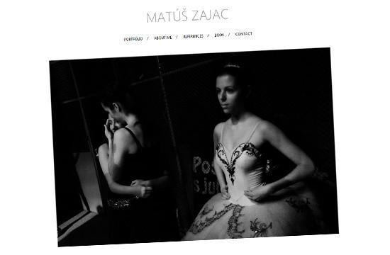 Umelecké portfólio fotografií - Matúš Zajac