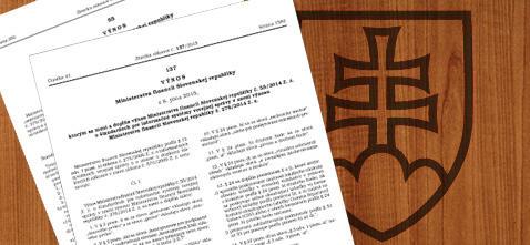 Nový výnos MF SR o štandardoch pre informačné systémy verejnej správy