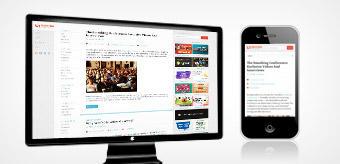 Mobilná verzia webstránky